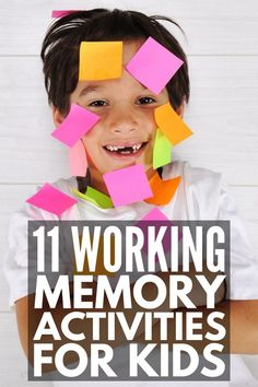 18 working memory games and strategies for kids 11 Working Memory Activities for Kids Auditory Processing Activities, Dyslexia Activities, Speech Therapy Activities, Learning Disabilities, Activities For Kids, Articulation Activities, Memory Strategies, Play Therapy Techniques, Working Memory