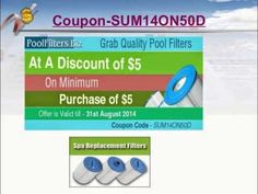 Swimming pool filter is the most fundamental component of a pool circulation system, as nobody likes an algae–ridden, unsanitary swimming pool. Swimming Pool Filters, Swimming Pools, Swimming Pool Accessories, Pool Equipment, Coupon Codes, Coupons, Stuff To Buy, Spa, Knowledge