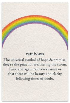 Inside Message: May peace enfold you. Inside Message: May your ankles look skinny, your feet look small, and orthos be decades away! Words Quotes, Wise Words, Me Quotes, Beauty Quotes, Wisdom Quotes, Rainbow Quote, Rainbow Sayings, Rainbow Art, Rainbow Bridge