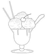 member's free ice cream sundae digital stamp set