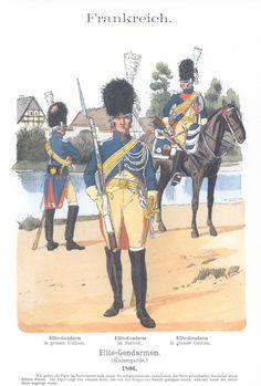 Vol 08 - Pl 04 - Frankreich: Elite-Gendarmen (Kaisergarde). 1806.