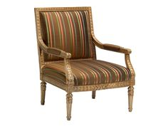 Chaddock Living Room Italian Provincial Lounge Chair