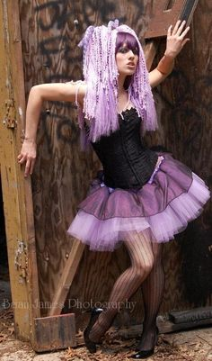 Adult tutu skirt Sparkle Lavender wild dance costume roller derby gothic halloween --You Choose Size -- Sisters of the Moon