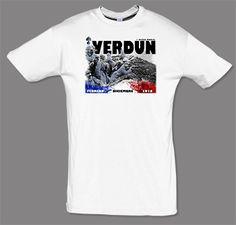 Camiseta I Guerra Mundial. Batalla de Verdun