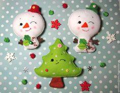 Resultado de imagen para imagenes de muñecos de nieve en fieltro