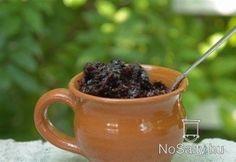 Köcsögös szilvalekvár - sütőben - cukor nelkul! Hungarian Recipes, Marmalade, Moscow Mule Mugs, Preserves, Sweets, Canning, Tableware, Food, Cukor