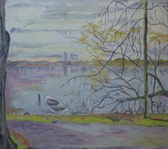Utterslev Mose med udsigt til Høje Gladsaxe Painting, Art, Anchor, Art Background, Painting Art, Kunst, Paintings, Performing Arts, Painted Canvas