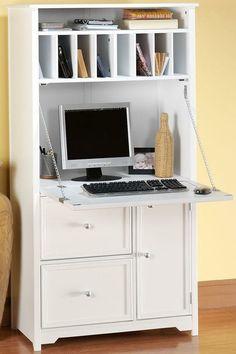 Oxford Tall Secretary Desk