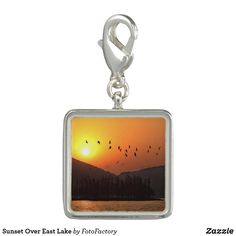 Sunset Over East Lake Charm