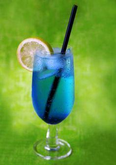 Blue Lagoon Cocktail kochmaedchen.de