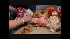hacer pelo de estambre muñecas trapo - YouTube