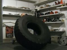 Tractor Tire Workouts (Finding and Using)