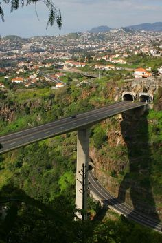 Funchal Highway Bridge, Funchal, Madeira, Portugal