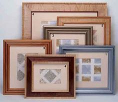 "70 - Picture Frames - These plans were originally published by Popular Mechanics Magazine. It is included without attribution in #MyShedPlans - ""220 Woodworking Projects"""