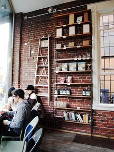 Revolver Coffee is without a doubt the coolest coffee place in town.