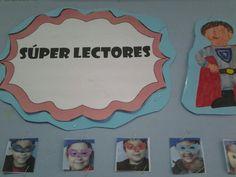 diario mural para incentivar a los super lectores.