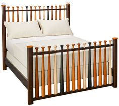 baseball bat bed jordan's furniture 866-856-7326 $699.99