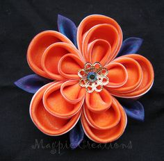 <3 Japanese Fabric Flowers - Need to find alternative instructions from another source -Great Pictures- ~!~