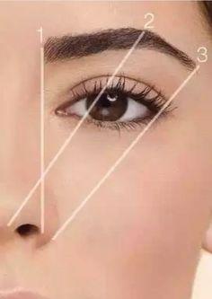 Have perfect eyebrows with this guide - # make-up . - make-up - Natural Hair Mask, Natural Hair Styles, Natural Makeup, Natural Beauty, Beauty Hacks For Teens, Skin Tag Removal, Hair Removal, Perfect Eyebrows, Shape Eyebrows