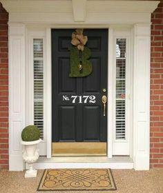No. On door. Great idea.