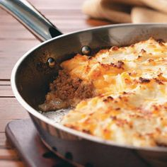 St. Paddy's Day: Irish Shepherd's Pie Recipe    Ingredients        1-1/2 pounds ground beef      1 medium onion, chopped      2 garlic cloves, minced      1/2 cup water      1 envelope taco seasoning      2 cups (8 ounces) shredded cheddar cheese, divided      3 cups leftover or refrigerated mashed potatoes, warmed