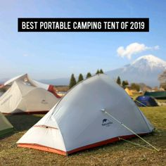 MAKE YOUR CAMPING EXPERIENCE AMAZING AS IF YOU ARE LIVING AT HOME !!  This camping tent is ultralight & waterproof, having the best ratio of strength and weight, whether you are hiking or camping, it can provide you with a high degree of comfort and security.  #tent #outdoors #camping