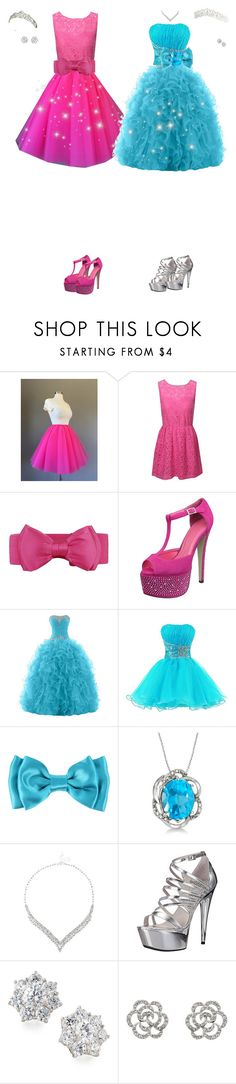 """""""Brianna and Tammy Ever after city celebration"""" by cynthiatorres-ii ❤ liked on Polyvore featuring Jane Norman, Hot Topic, Allurez, Jon Richard, Ellie Shoes, Fantasia by DeSerio and Finesse"""