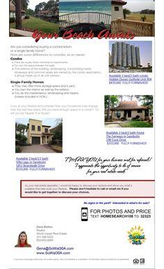 April Newsletter by SoWal 30A & Sandestin - Real Estate  via slideshare