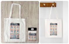Bolsas de algodón. La factoría de Nono Reusable Tote Bags, Blog, Cotton Bag, Bags, Art, Blogging