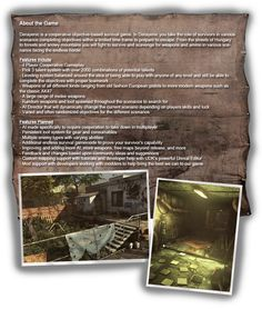 derayenic is a cooperative objective based survival game in derayenic you take the role