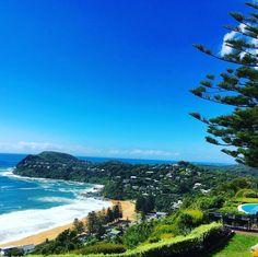 Hello blue skies & sunshine  #jonahswhalebeach #whalebeach #relaischateaux #ilovesydney #seensw #tourismaustralia #lovemanly by jonahswhalebeach