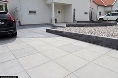 Betongsten - 700 x 700 Slät platta 80 - Molnsätra Summer House Garden, Home And Garden, Paved Patio, Outdoor Spaces, Garden Landscaping, Outdoor Gardens, Garden Design, New Homes, Pergola