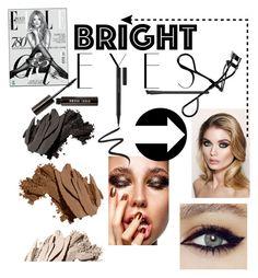 """Dangerous"" by shirinmir on Polyvore featuring beauty, Bobbi Brown Cosmetics, Charlotte Tilbury, Kevyn Aucoin, NARS Cosmetics, Stila, Eyeko and brighteyes"