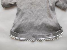 sweater bottom band
