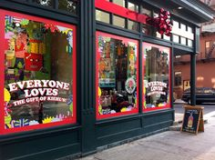 Creative Store Display Ideas | ... in and outside the brand's flagship store in New York's East Village