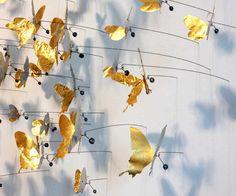 JAX does design: Gold-a-licious Serena Van Der Woodsen, Butterfly Artwork, Butterfly Wall, New Orleans Art Galleries, Louisiana Art, Landscape Model, Deer Art, 3d Wall Art, Elements Of Design