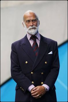Prince Michael of Kent. Mature fashion men.#Elegance #Fashion #Menfashion #Menstyle #Luxury #Dapper #Class #Sartorial #Style #Lookcool #Trendy #Bespoke #Dandy #Classy #Awesome #Amazing #Tailoring #Stylishmen #Gentlemanstyle #Gent #Outfit #TimelessElegance
