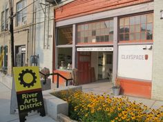 asheville river arts district, check out the artists working in their studios, and buy something. no starving artists, that's our motto