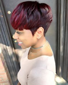 [www.TryHTGE․com] Try Hair Trigger Growth Elixir ============================================== {Grow Lust Worthy Hair FASTER Naturally with Hair Trigger} ============================================== Click Here to Go To:▶️▶️▶️ www.HairTriggerr.com ✨ ==============================================      Dope Red Tapered Bowl Cut!!