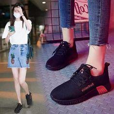 Korean Shoes, All Black Sneakers, Facebook, Fashion, Moda, La Mode, Fasion, Fashion Models, Trendy Fashion
