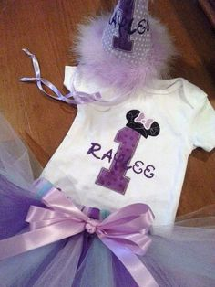 Minnie Mouse Top Hat Birthday Number Shirt with Disney Mouse Head Minnie or Mickey - Personalizing Included ( Shirt /Onesie / Onesy ONLY)