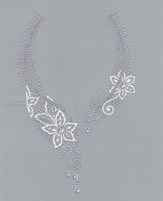 Drawing Piaget necklace | beautiful flow | Jewelry Drawings Sketches Renderings