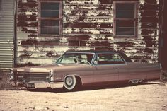 1966 Cadillac Coupe de Ville by Cody Craven... Land yacht scraping the streets.