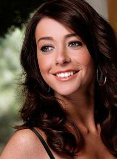 Alyson Hannigan. Love the hair #Repin By:Pinterest++ for iPad#