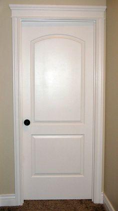 Interior Door...love The Crown Over A Bedroom Door.