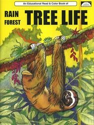 Rain Forest Tree Life - Coloring Book