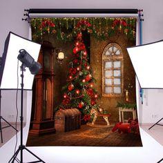 heißer verkauf weihnachten bunte Studio hintergrund Fotografie Requisiten foto hintergrund für Fotos cool boy mädchen partei dekor(China (Mainland))