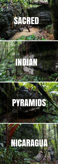 Thousands of years old stone pyramids lie intact deep in the Indio Maíz jungle, Nicaragua. The pyramids are sacred to Rama people, descendants of the Chibcha Indians.