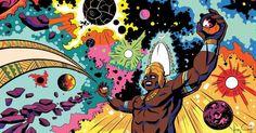 Xangô, Oxóssi, Yemanjá e mais: Orixás vão virar heróis de história em quadrinhos