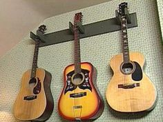 How to Make a Guitar Rack | Easy Ideas for Organizing and Cleaning Your Home | HGTV